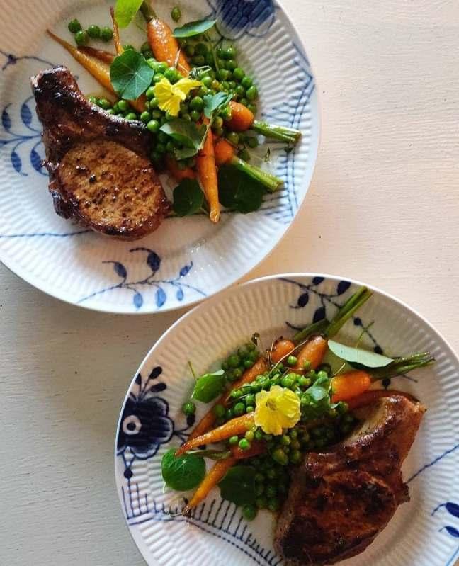Honningglaserede gulerødder/LaCucinaNada