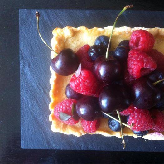 Citrontærte m.bær/LaCucinaNada