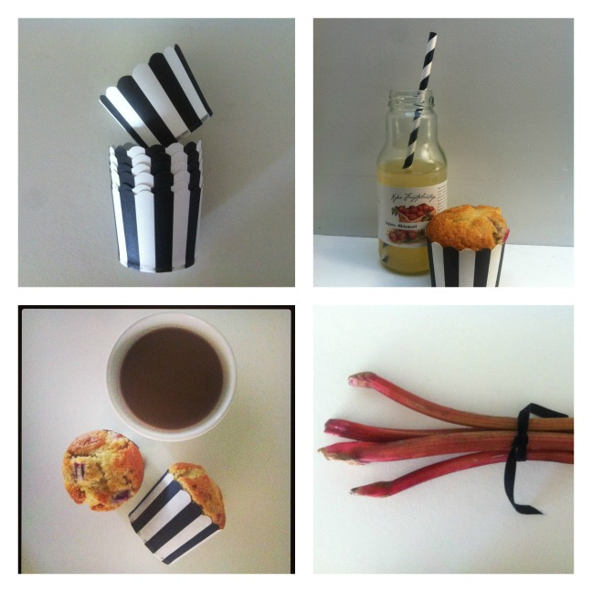 Rhubarbmuffins/LaCucinaNada