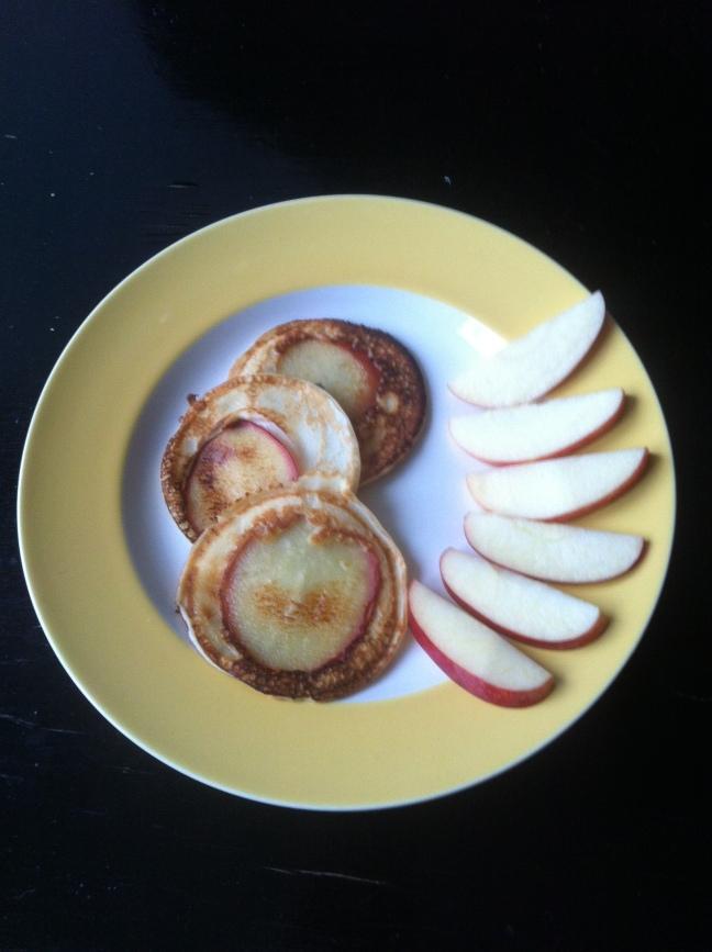 Æblepandekager/LaCucinaNada