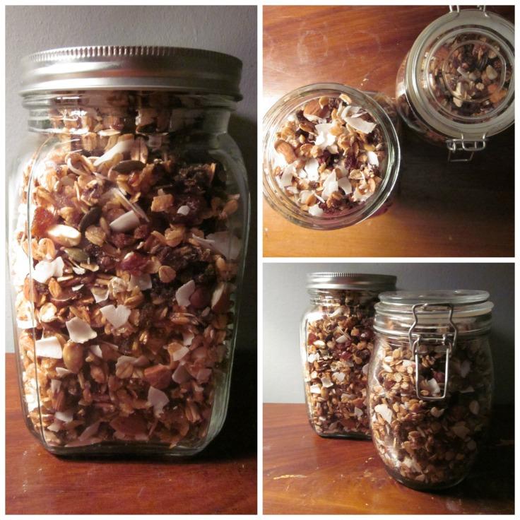 Rugbrøds-granola/LaCucinaNada