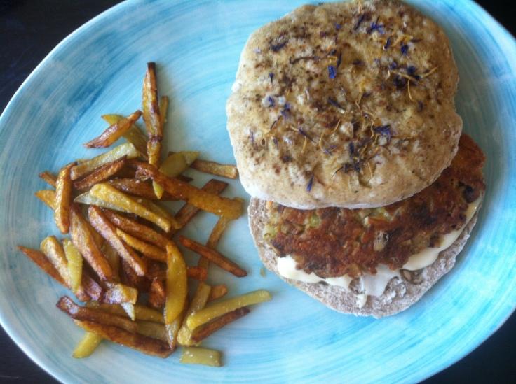 Veggie burger de luxe, vol.2/LaCucinaNada