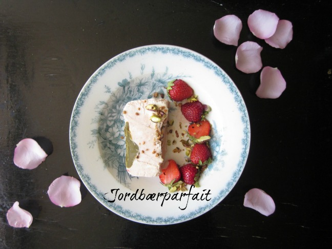 Jordbærparfait