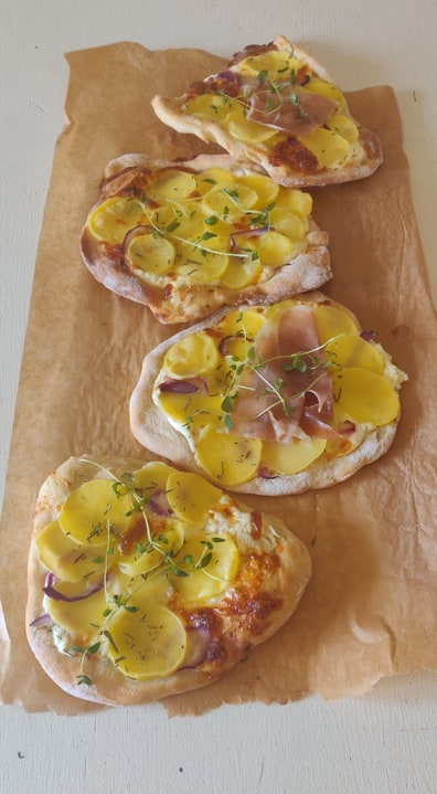 Mini pizze bianco/LaCucinaNada